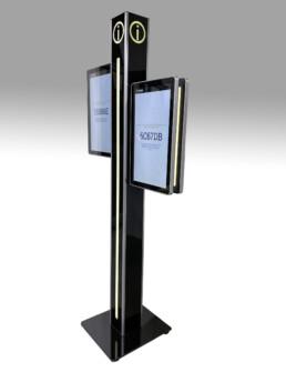 dual sided digital signage display